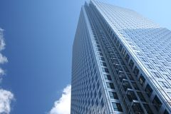 Glass Skyscraper. Impressive, modern skyscraper in the heart of London city Stock Photography