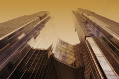 Glass skyscraper Royalty Free Stock Photo