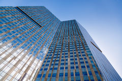 Glass skyscraper Royalty Free Stock Image