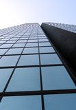 Glass skyscraper Stock Image
