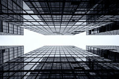 Glass Skyscraper Background, Hong Kong Royalty Free Stock Photography