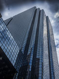 Glass skyscraper building. Reaching for the sky in perspective Stock Photos