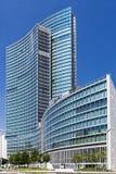 Glass skyscraper in Milan Stock Image