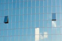 Glass skyscraper windows Stock Photography