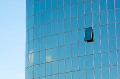 Glass skyscraper windows Royalty Free Stock Image