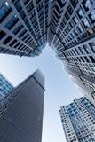 Glass skyscrapers Stock Photo