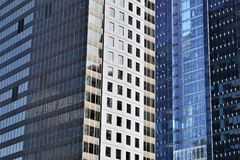 Glass skyscrapers in Chicago Stock Photography