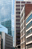 Glass Skyscrapers in London Stock Photography
