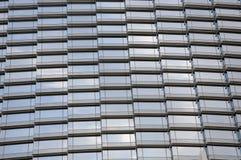 glass skyscrappervägg Arkivbilder
