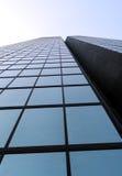glass skyskrapa Fotografering för Bildbyråer