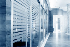 Glass sliding doors Stock Images