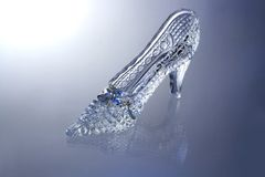 Glass Slipper Royalty Free Stock Images