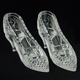 Glass Slippers Stock Image