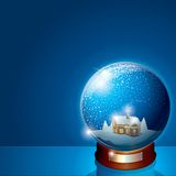 Glass Snow Globe Stock Photos