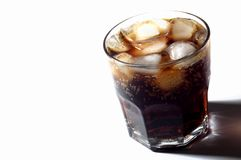 Glass of soda Stock Images