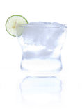 Glass of soda water Stock Images