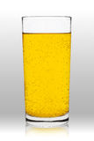 Glass soft drink Royalty Free Stock Images