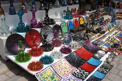 Glass souvenirs Stock Image