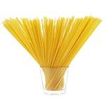 glass spagetti Arkivbilder