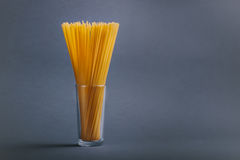 glass spagetti Arkivfoton