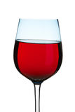 Glass of sparkling red wine Royalty Free Stock Photos