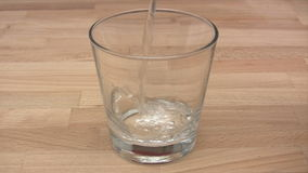 Glass of Sparkling Water Royalty Free Stock Photos
