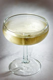 glass sparkling wine Royaltyfria Bilder