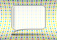 Glass speech bubble Stock Photo