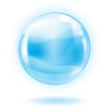 glass sphere royaltyfri illustrationer