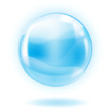Glass sphere royalty free illustration