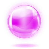 Glass sphere royalty free illustration
