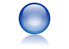 Glass sphere Royalty Free Stock Photography