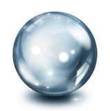 Glass sphere pearl Stock Photos