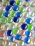 Glass spheres Stock Image