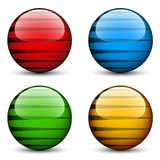 Glass spheres Royalty Free Stock Images