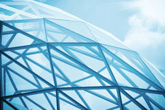 Glass spherical building Stock Photography