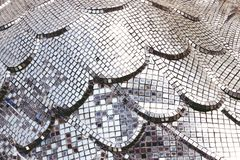 Glass square mosaic tiles for texture background stock images