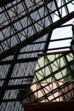 glass stål Arkivbild