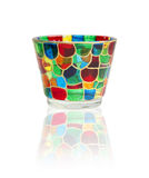 Glass with stained glass Royalty Free Stock Image