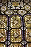 4 glass stained window royaltyfri bild