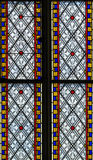 4 glass stained window Στοκ εικόνες με δικαίωμα ελεύθερης χρήσης