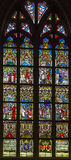 4 glass stained window Στοκ Εικόνα