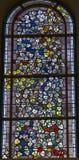 4 glass stained window Στοκ εικόνα με δικαίωμα ελεύθερης χρήσης
