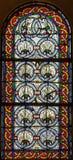 4 glass stained window Στοκ Φωτογραφία