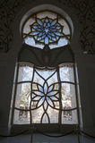 4 glass stained window Fotografering för Bildbyråer