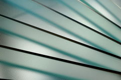 Glass Stairs Royalty Free Stock Photos