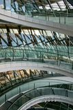 Glass stairway Royalty Free Stock Photography