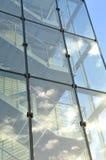 Glass stairway Royalty Free Stock Photo