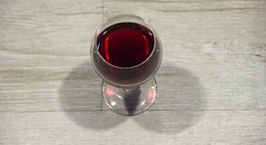 Glass red wine royalty free stock photos