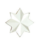 Glass star Stock Image